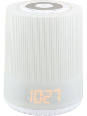 Soundmaster UKW-PLL Uhrenradio mit farbigen LED Nachtlicht