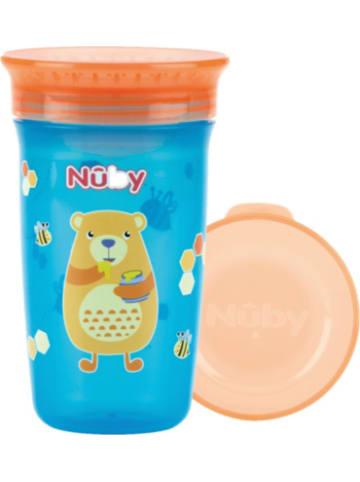"""Nuby 360° Trinklernbecher """"WONDER CUP"""", 300 ml, Aqua Bear"""