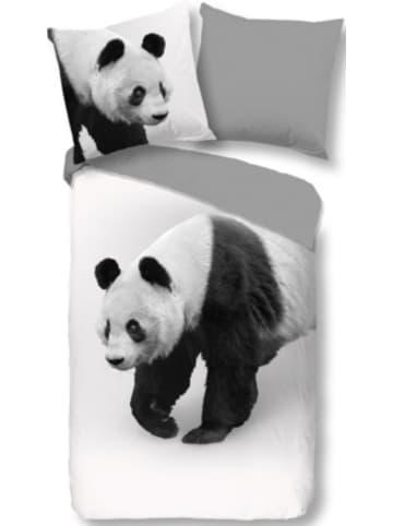 """Pure Wendebettwäsche """"Panda"""" 135x200 cm"""