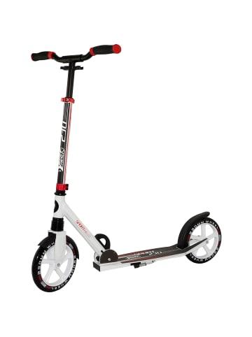 Best Sporting Scooter in Weiß/Rot - ab 8 Jahren