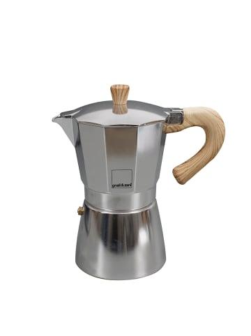 Gnali&Zani Venezia - Espressokocher, alu, 9 Tassen