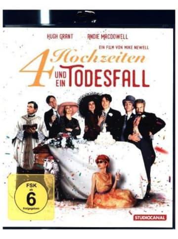 Studiocanal Vier Hochzeiten und ein Todesfall, 1 Blu-ray