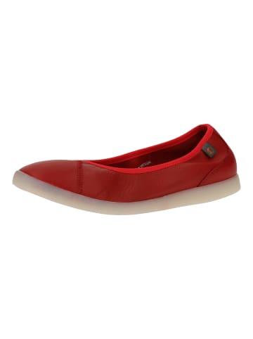 Softinos Ballerinas in Rot