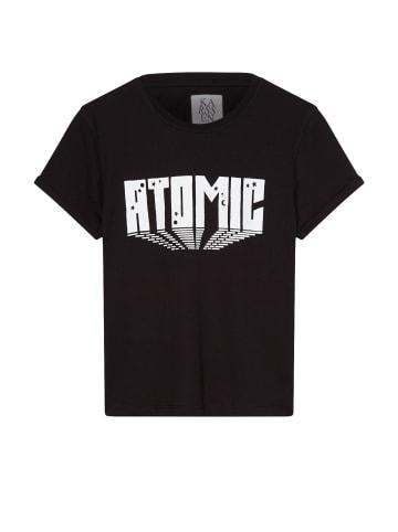 ZOE KARSSEN T-Shirt in Washed Black