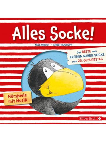 Silberfisch Verlag Der kleine Rabe Socke - Alles Socke!, Audio-CD