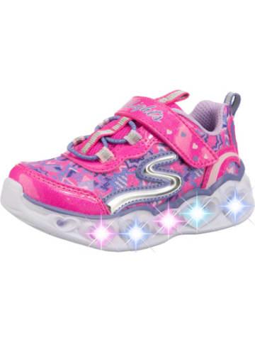Skechers Baby Sneakers Low Blinkies HEART LIGHTS