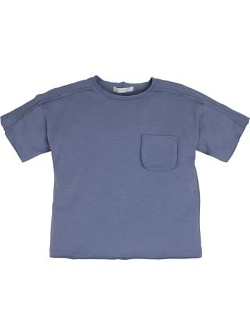 Mamino Kindermode Jungen T-Shirt in blau