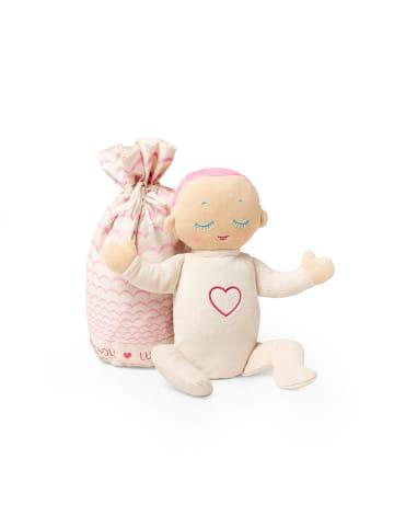 Lulla doll Lulla Doll Coral Einschlafpuppe mit Herzschlag in Rosa