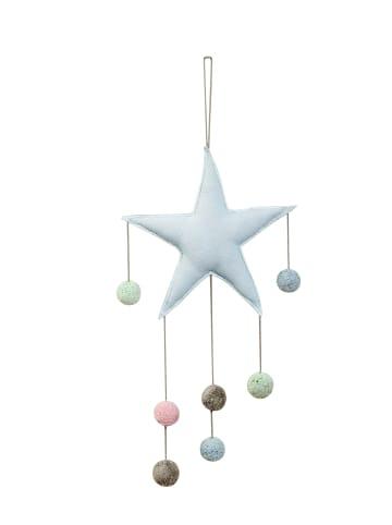 "Happy Decor Kids Mobile ""Star"" in Blau - 30x70  cm"