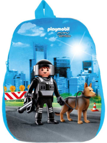 United Labels AG Kinderrucksack Playmobil Polizei