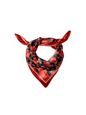 Keola Seidentuch in Red Heart