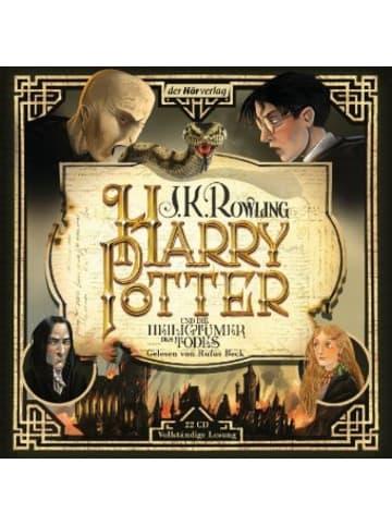 Der Hörverlag Harry Potter und die Heiligtümer des Todes, 22 Audio-CD
