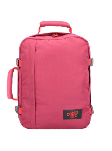 Cabinzero Classic 28L Cabin Backpack Rucksack 39 cm in jaipur pink