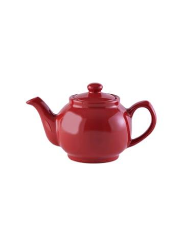 Price&Kensington Teekanne, glänzend rot, 2 Tassen