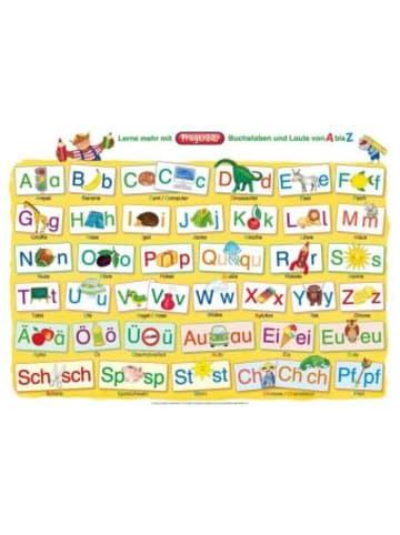 Spielend Lernen Fragenbär-Mini-Lernposter: Buchstaben und Laute von A bis Z
