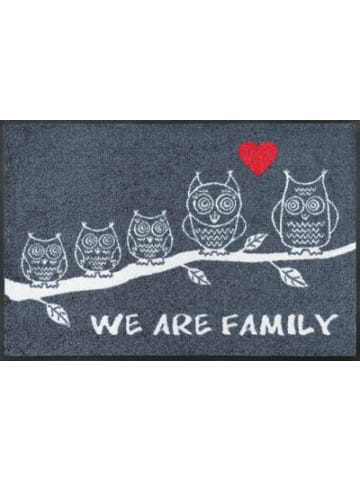 """Wash+dry Fußmatte """"We Are Family"""" 50x75 cm"""