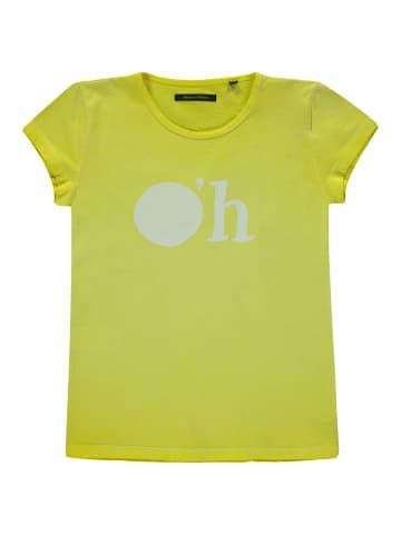 "Marc O'Polo Junior T-Shirt ""O'h"" in primrose yellow"