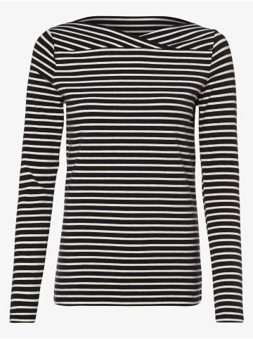 ESPRIT COLLECTION  Shirt in marine weiß