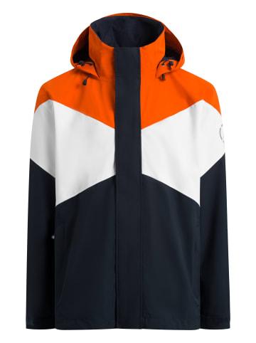 Sea Ranch Allwetterjacke Nikolai in navy white orange