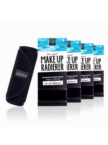 Der original MakeUp Radierer 4er Set: MakeUp Radierer Tuch in Schwarz