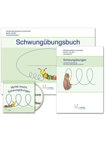Myrtel Schwungübungen Vorschule. Sparpaket | Audio-CD, Lehrerband,...