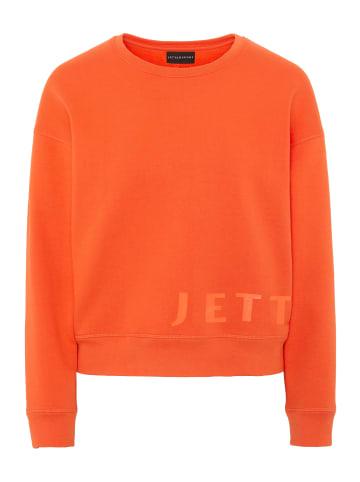 Jette Sport Sweatshirt in 17-1462 Flame