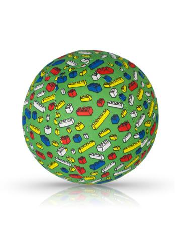 BubaBloon  Textile Ballonhülle mit Bausteinmotiv