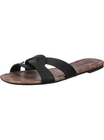 Coach Essie Leather Sandal Pantoletten