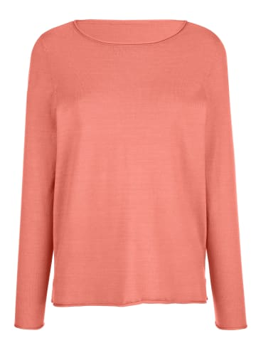 Dress In Pullover in Apricot