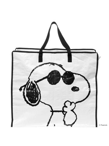 Butlers Jumbotasche Snoopy PEANUTS in schwarz und weiß