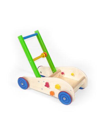 Hess Holzspielzeug  Lauflernwagen in Bunt