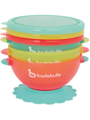 Badabulle Breischale mit Saugnapf & Deckel, 3er-Set