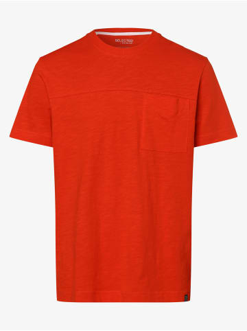 Selected T-Shirt in rot