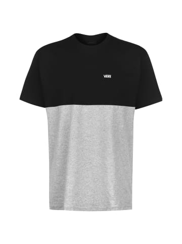 Vans T-Shirt Colorblock in schwarz / grau