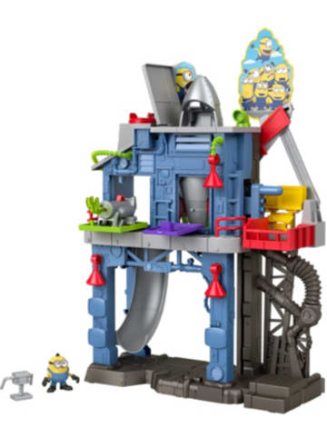 Mattel Imaginext Minions Grus Geheimversteck-Spielset