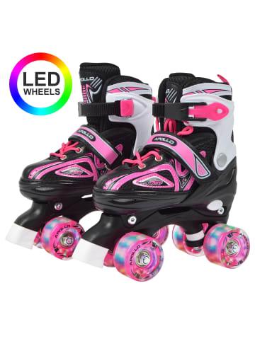 "Apollo Rollschuh "" Super Quads X-Pro "" in Pink"