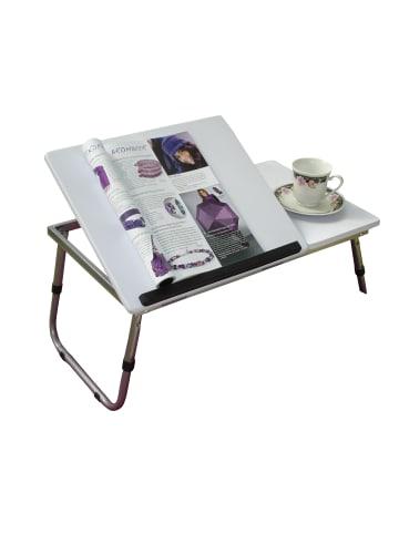 """Möbel-direkt Betttisch_Laptoptisch """"Edgar"""" in weiß"""