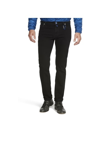 Meyer Super-Stretch-Jeans in black-black