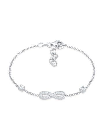 Nenalina Armband 925 Sterling Silber Infinity in Silber