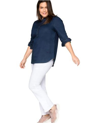 Sheego Jeans in white Denim
