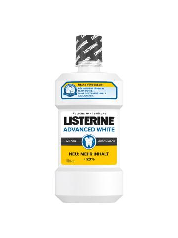 "Listerine Mundspülung ""Advanced White Mild"" ‒ 600ml"
