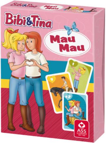 ASS Altenburger Spielkarten Bibi & Tina - Mau Mau