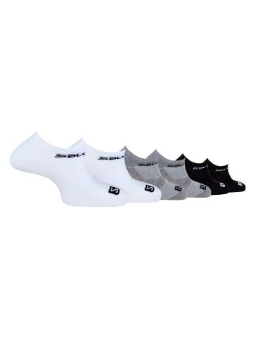 SALOMON Sport-Sneakersocken in schwarz-weiss
