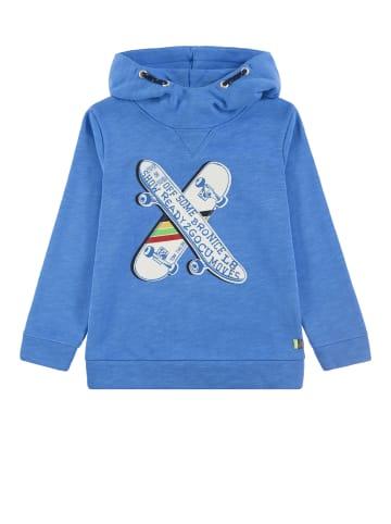 TOM TAILOR kids Kapuzensweatshirt in ibiza blue