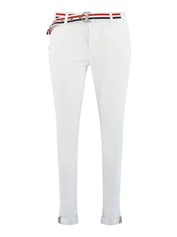 Bianco Jeans  Hose ESSONITE in Solid White