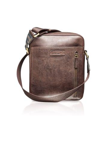 Packenger Urban Messenger Bag Capetown in braun