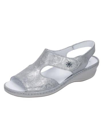 Comfortabel Komfort-Sandalen in silber