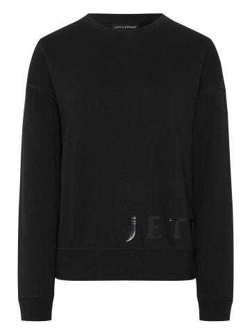 Jette Sport Sweatshirt in 19-3911 Deep Black