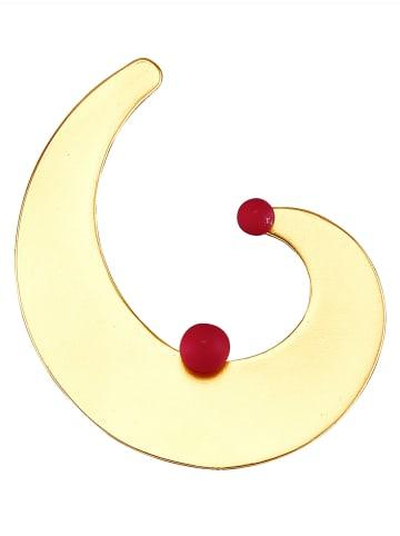 Love Inspiration Brosche, Goldfarben in Rot