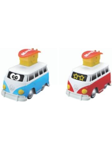 BB Junior VW Press&Go VW Samba blau + rot sortiert